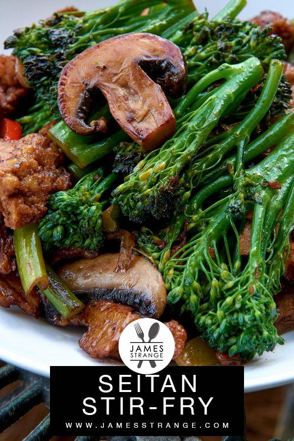 Photo of Seitan and veggie stir-fry 🥦