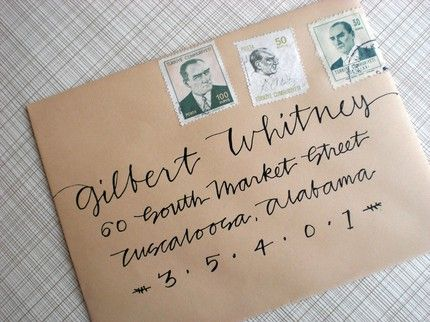 17 best images about Envelopes – Learn Calligraphy Wedding Invitations