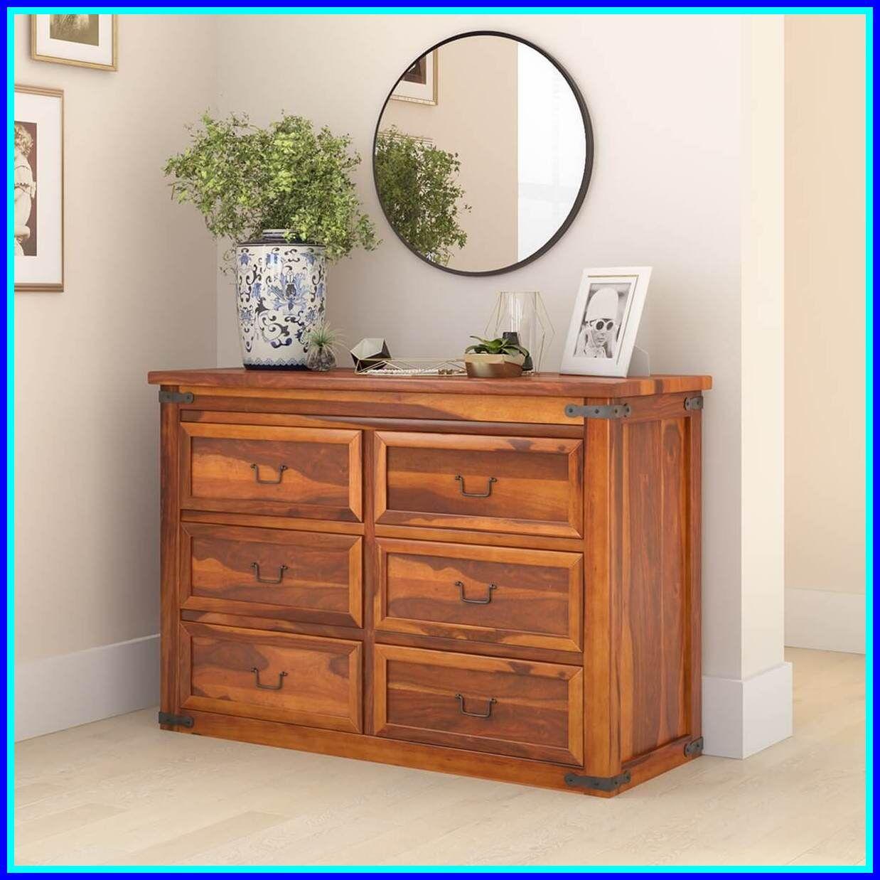 6 drawer solid wood dresser