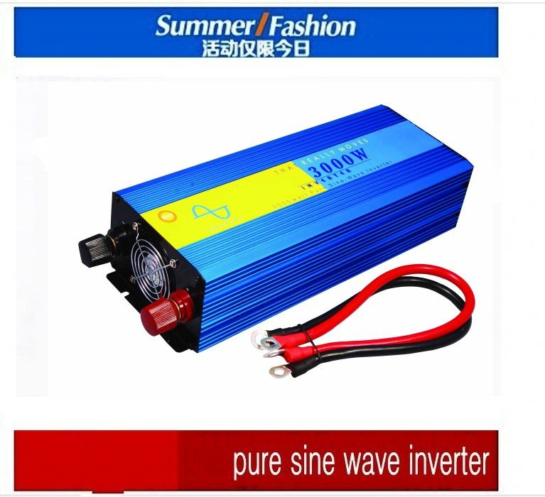 3000w Pura Sinus Inverter Pure Sine Wave Inverter 3000w 12v To 220v Ce Rohs Pv Solar Inverter Car Inverter Conv With Images Sine Wave Solar Power Inverter Solar Inverter