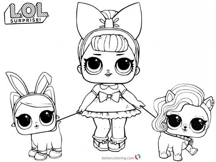 Printable Lol Doll Coloring Pages Baby Coloring Pages Puppy Coloring Pages Unicorn Coloring Pages