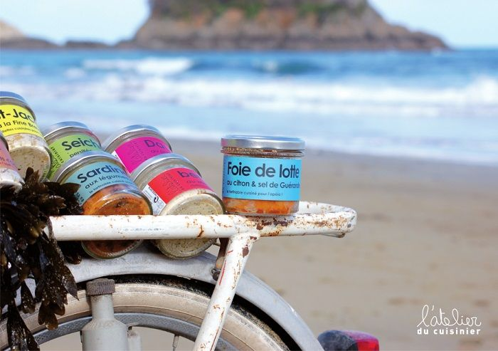 La Paimpolaise et ses délices de la mer ! Des saveurs étonnantes mais non moins délicieuses ! http://www.tempetedelouest.fr/blog/rillettes-la-paimpolaise/