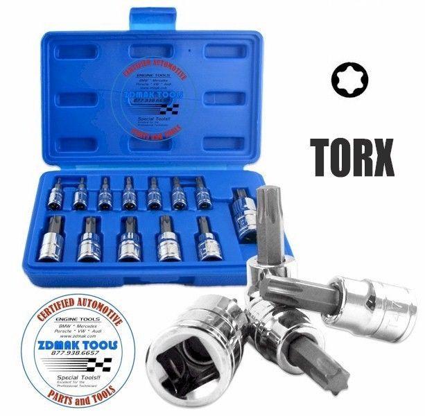 Torx Socket Set Auto Repair Tools Bmw Mercedes Volvo Vw Audi Etc Auto Repair Tools Repair