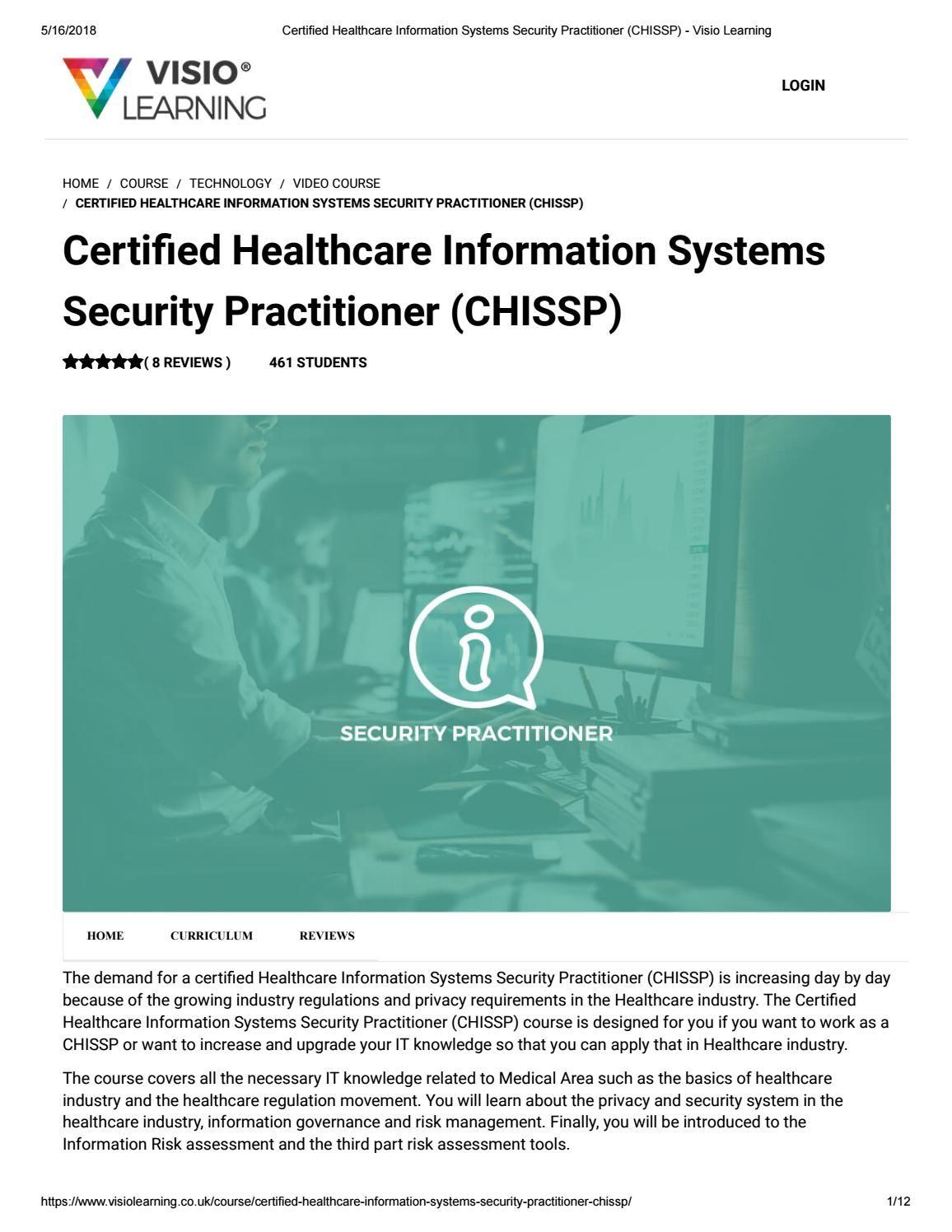 10 Top Healthcare It Certifications Healthcare Management