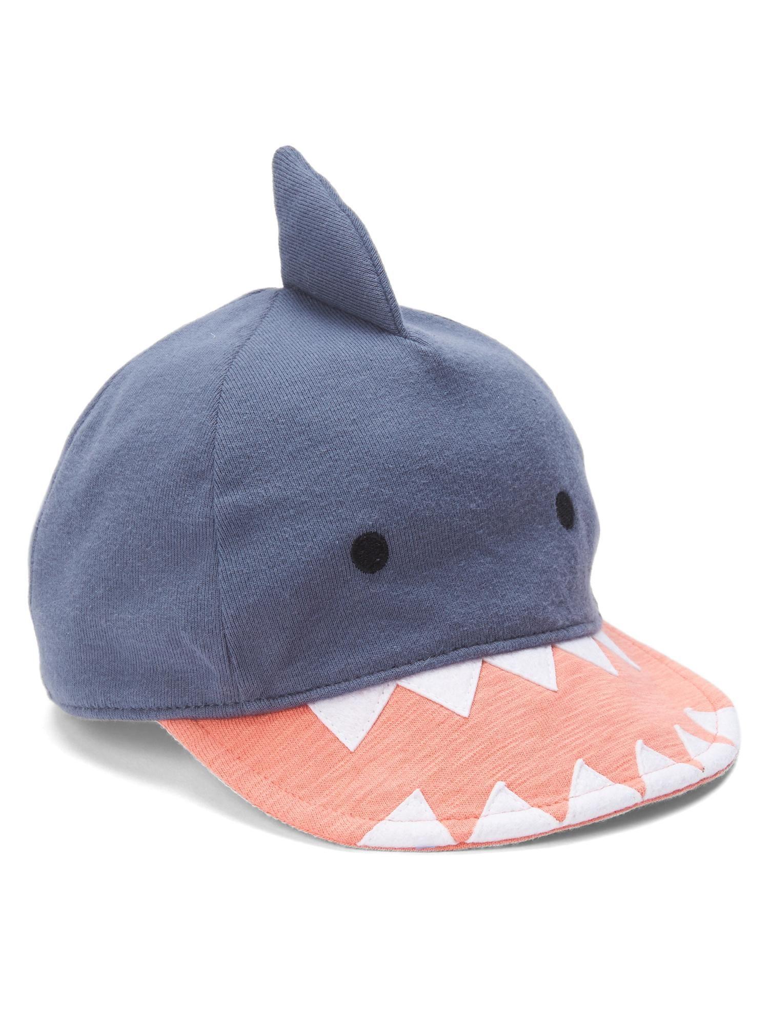 6ebb830f268 Shark baseball hat