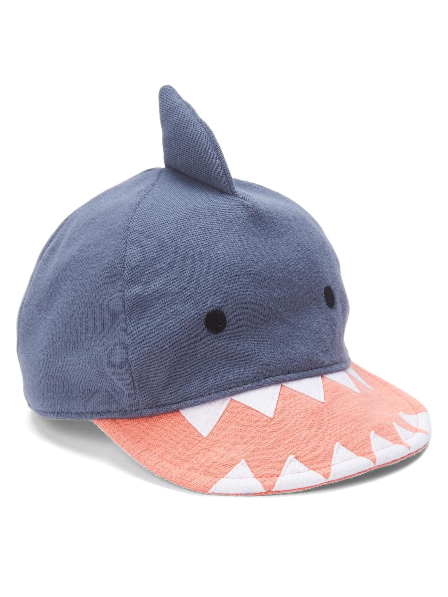 e946bfe43c7 Shark baseball hat