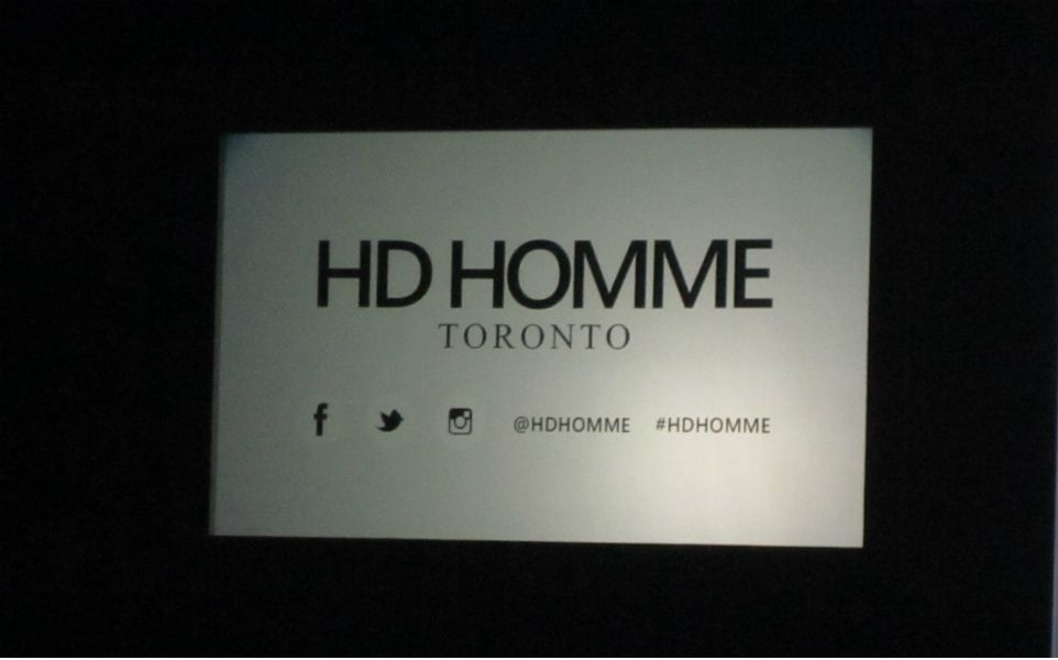 HD Homme Presents Outstanding Menswear Show at TOM*//Design & Technology In Men's Fashion