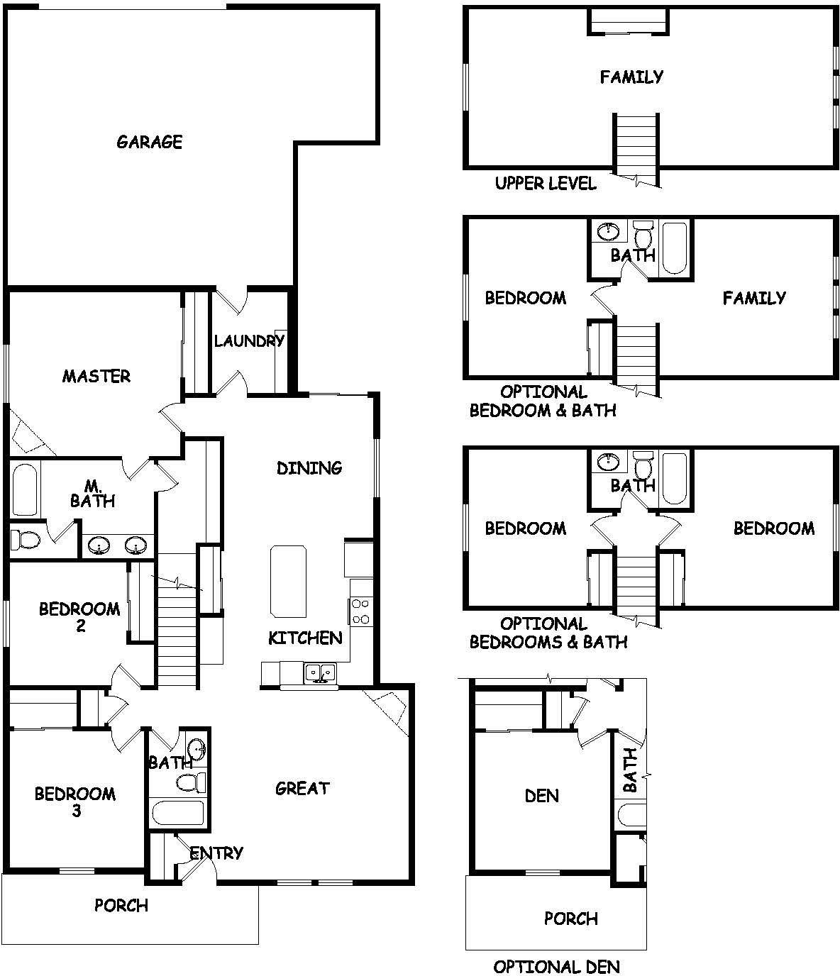 The Targhee 2042 Square Foot New Home Plan