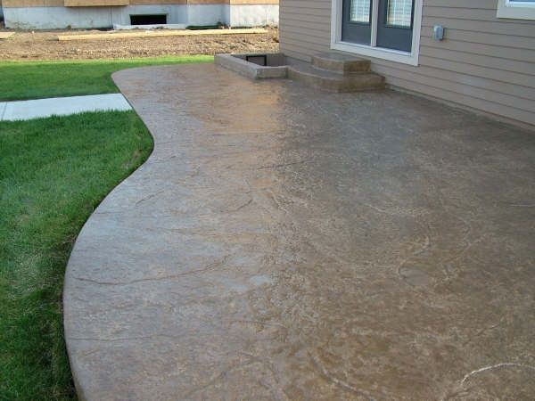 Cement Patio | ... Offered Stamped Or Stained Concrete Stamped Or Stained  Concrete