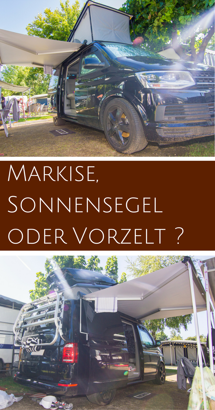 vw bus vorzelt markise oder sonnensegel vw bus ausbau. Black Bedroom Furniture Sets. Home Design Ideas