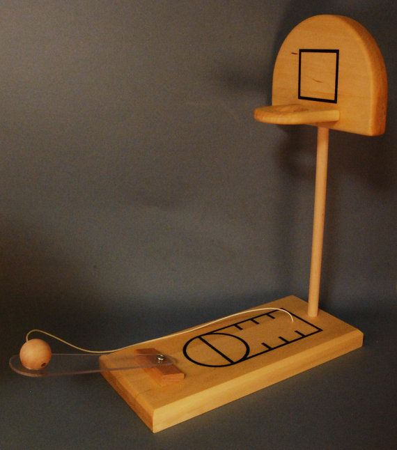 For Your Consideration A Hand Crafted Wood Desk Top Basketball Game Finely Produced From Locally Reclaimed Hardwoods Base And Backboard