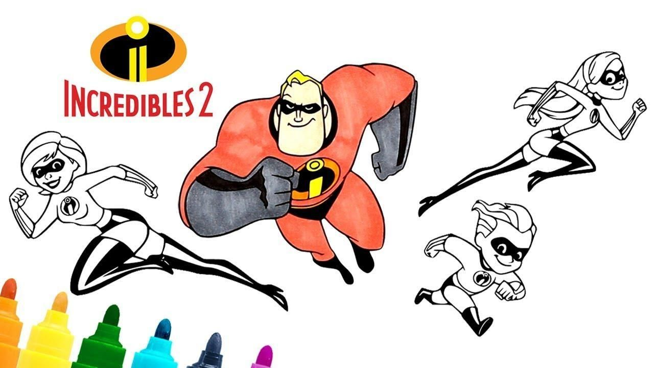 51 Dash Coloring Page Incredibles The Incredibles