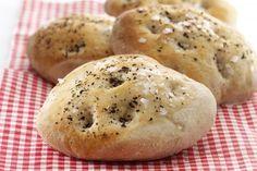 Foccacia-brød