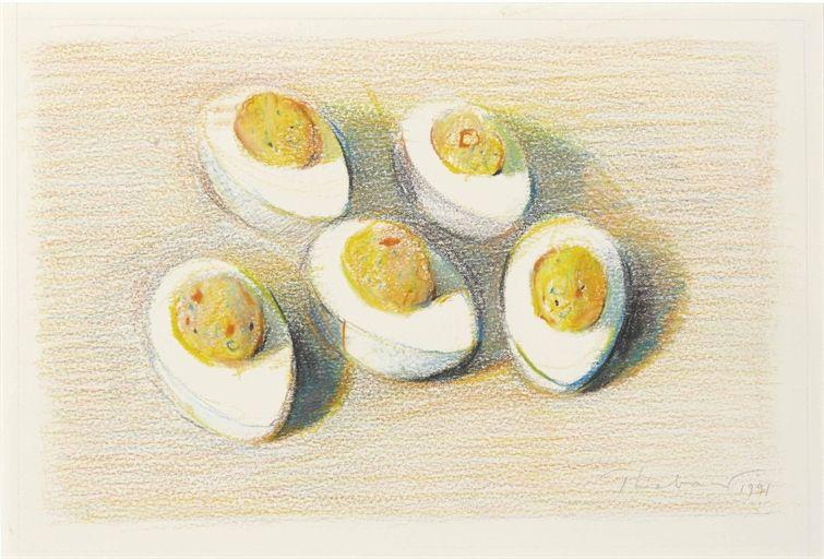 Wayne Thiebaud, Deviled Eggs
