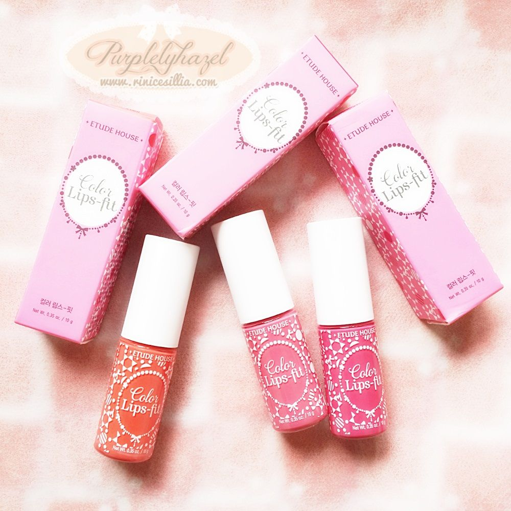 Etude House Color Lips-Fit http://www.rinicesillia.com/2014/02/etude ...