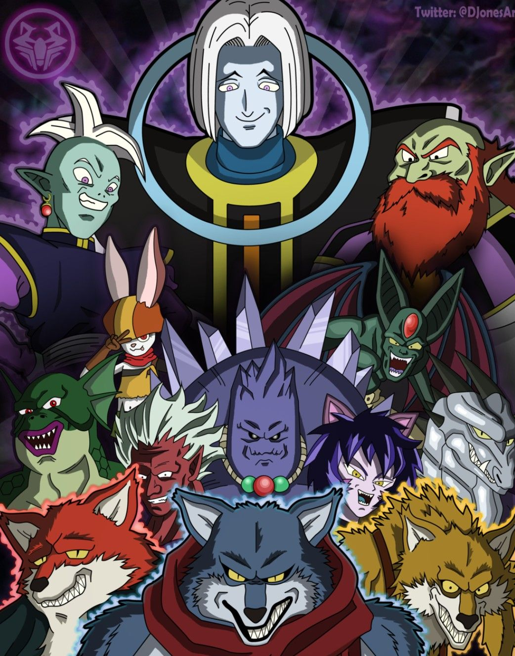 Extinto universo 9 torneo del poder drag n ball super for Universo del hogar