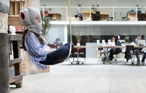 studio banana things ostrich pillow reisekissen designer kissen kreative ideen