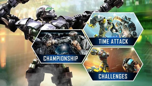 Let's play! Real Steel World Robot Boxing Game APK for