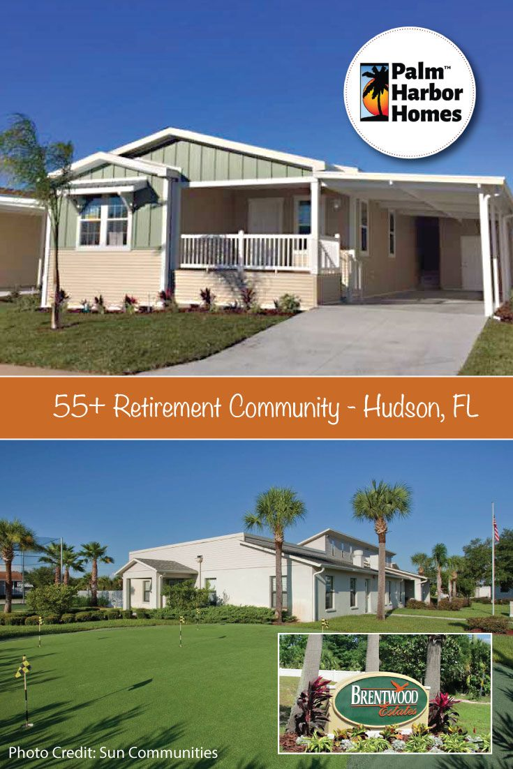 Tranquility Captures The Soul When You Enter This Active 55 Manufactured Home Community Nestled In A Peace Palm Harbor Homes Hudson Florida Manufactured Home