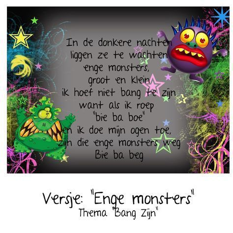 Versje Monsters Thema