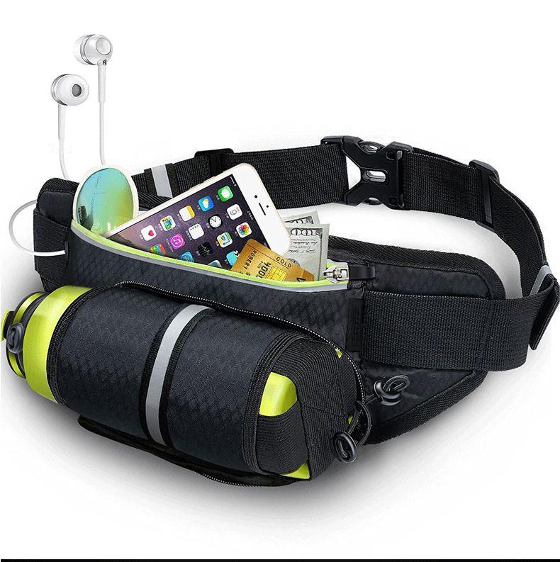Cinturon Bolsa Impermeable Soporte para Telefono Movil Celular para Correr Gym