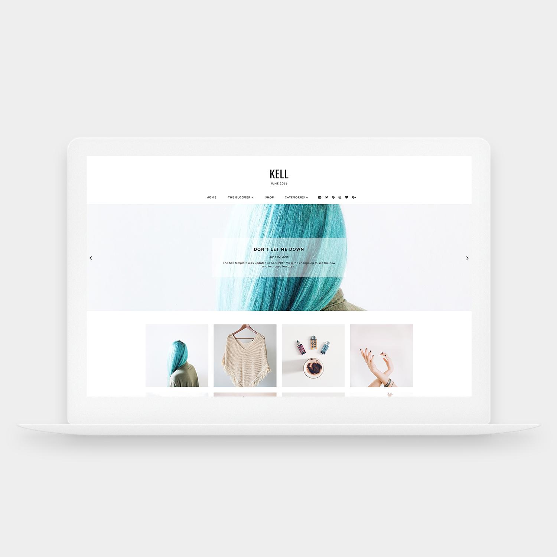 Kell | Responsive premade template for the Blogger/Blogspot platform ...