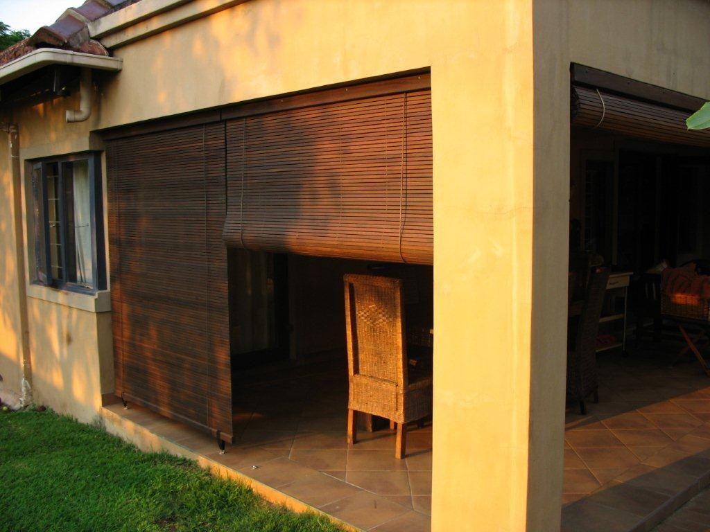 wood pergolas and braais Storm Blinds, Cape Town