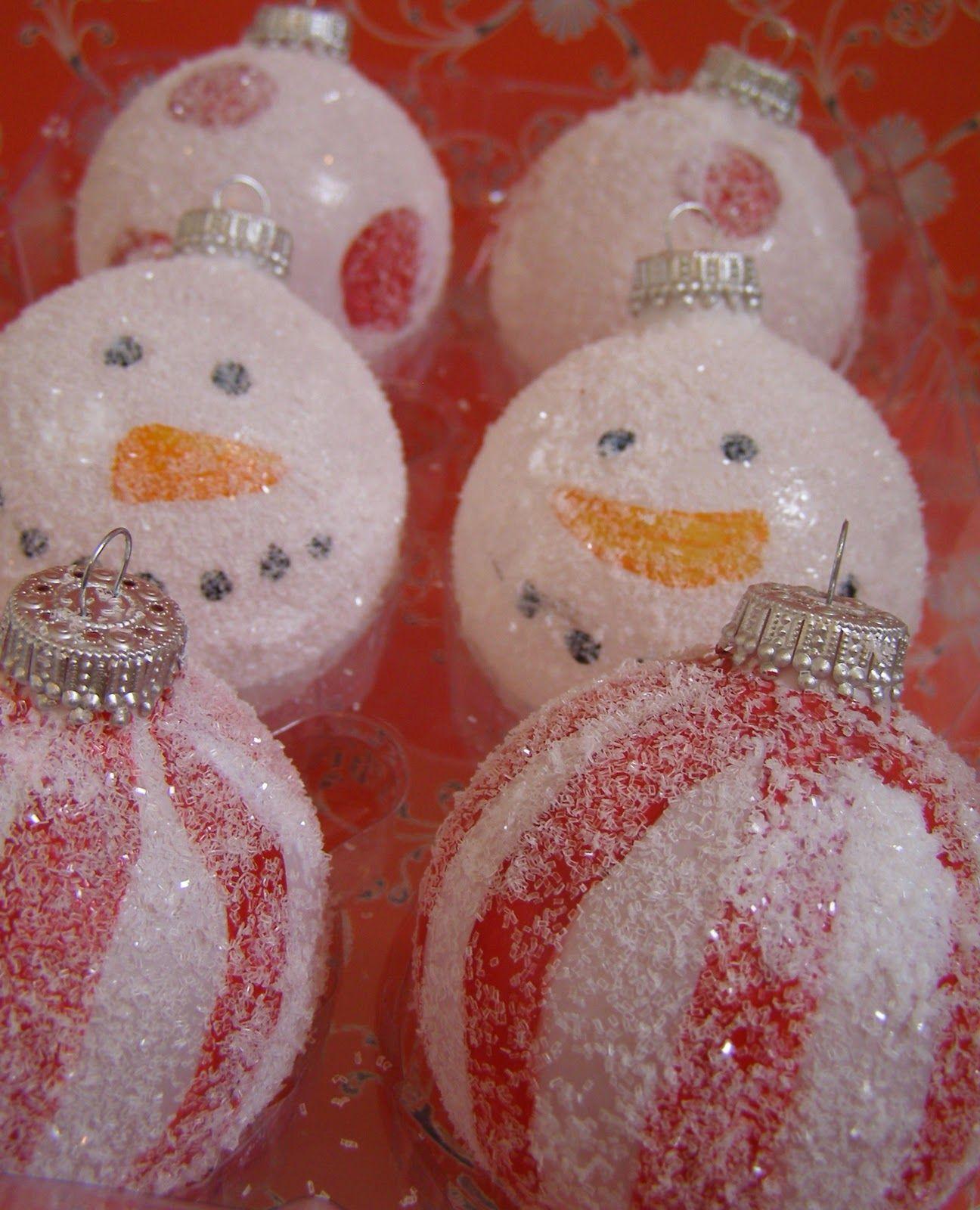 Snowman Ornaments Xmas Crafts Christmas Ornaments Handmade Christmas