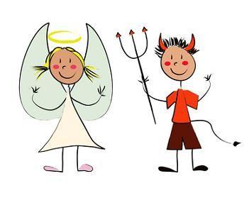 Il bene e il male sono due aspetti che l'animo umano si porta dentro da sempre