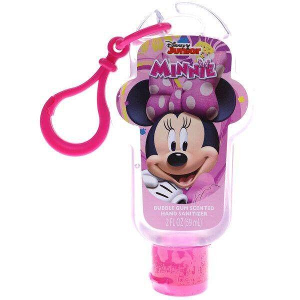 Hand Sanitizer Holder Disney Inspired Keychain Mickey Mouse Minnie