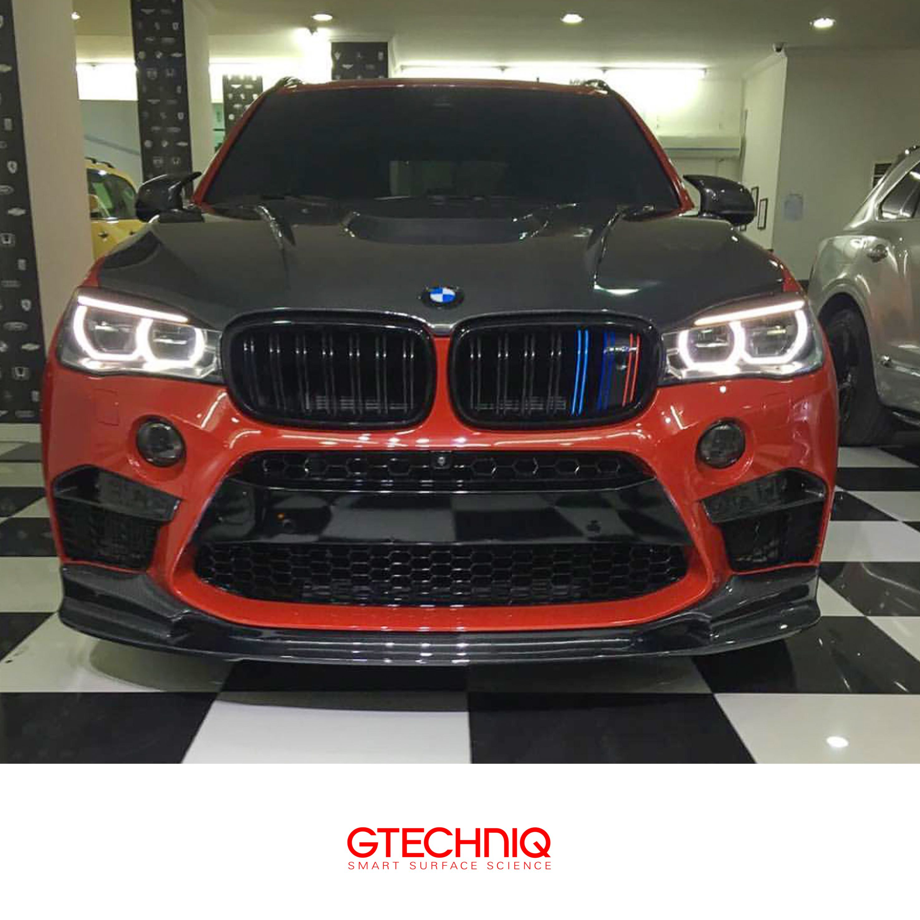 Bmw X5 M Power Full 3d Carbon Fibre Body Kit Wrapped And Then