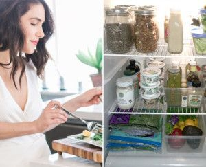 Is it weird to have a crush on a well-stocked refrigerator? Not in our world. We love exploring the real-life kitchen situations of wellness pros we admire, and the one below is as inspiring as any -