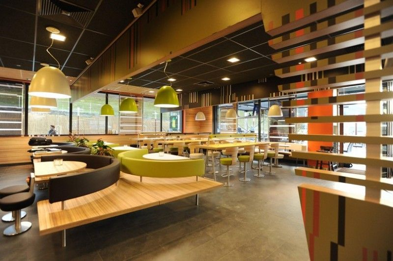 Decorating Interior Design Concepts For Small Fast Food Restaurant How To Design Fast Food Restaurant Restaurant Interior Designers Decoracao