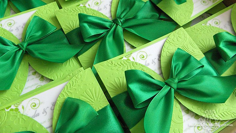 Green Wedding Invitations The Specialiststhe Specialists