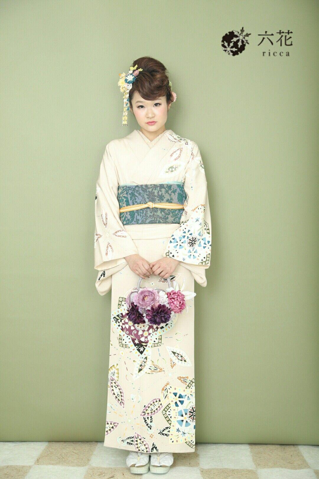 訪問着 六花オリジナル・シオノ手描き友禅訪問着 結婚式参列・パーティーなど