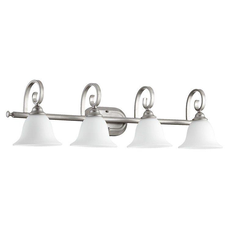 Photo of Quorum 5053-4-64 Celesta Four-Light Bathroom Vanity Fixture