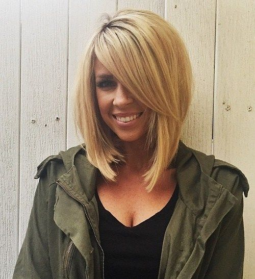 The Full Stack 50 Hottest Stacked Haircuts Haircuts Long Blonde