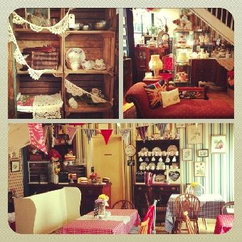 Biddys Tea Room Norwich Shabby Chic Cafe Room Small Spaces