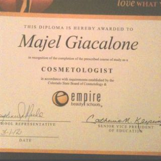 My diploma from Empire!!!! I am now a graduate!!!!!!!!!!!!!!!!!!!!!!!!