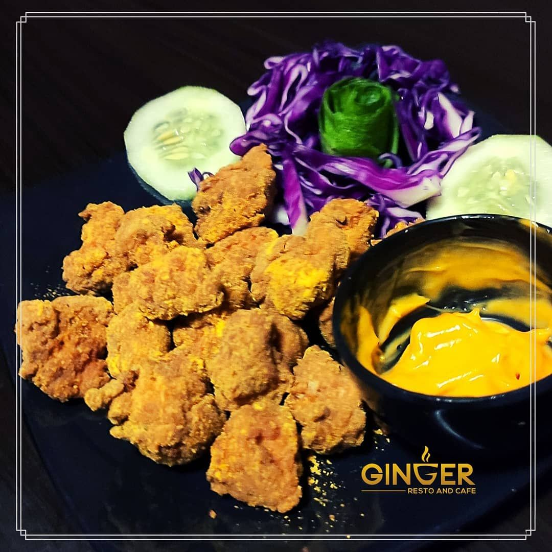 Chicken Popcorn Boneless @165  Your college ID Card will get you 20% discount.