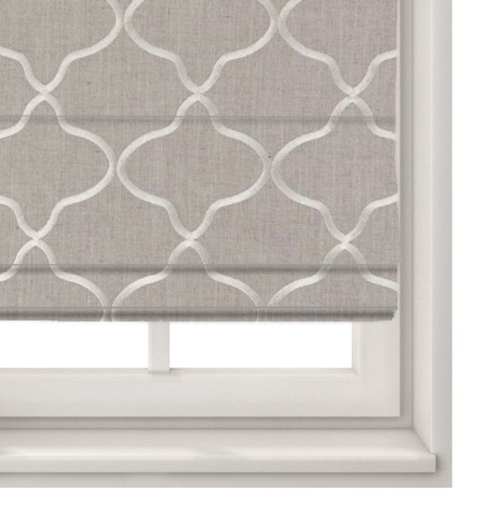 Roman Blind Leyla Natural