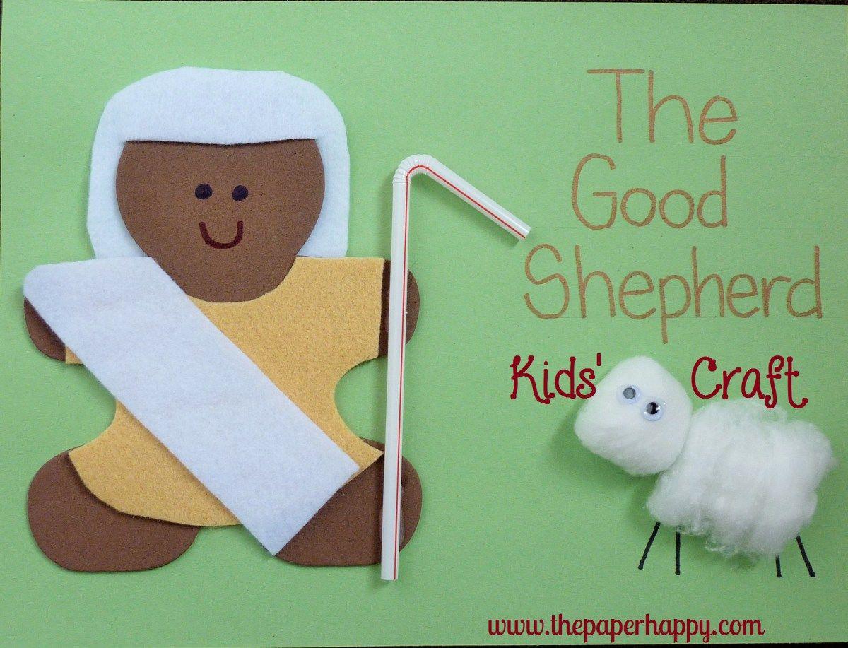 The Good Shepherd Kids Craft
