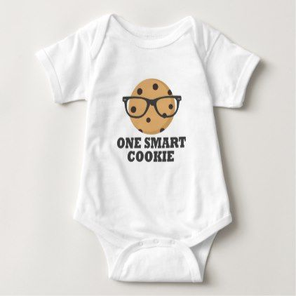 One Smart Cookie Baby Bodysuit - graduation gifts giftideas idea party celebration