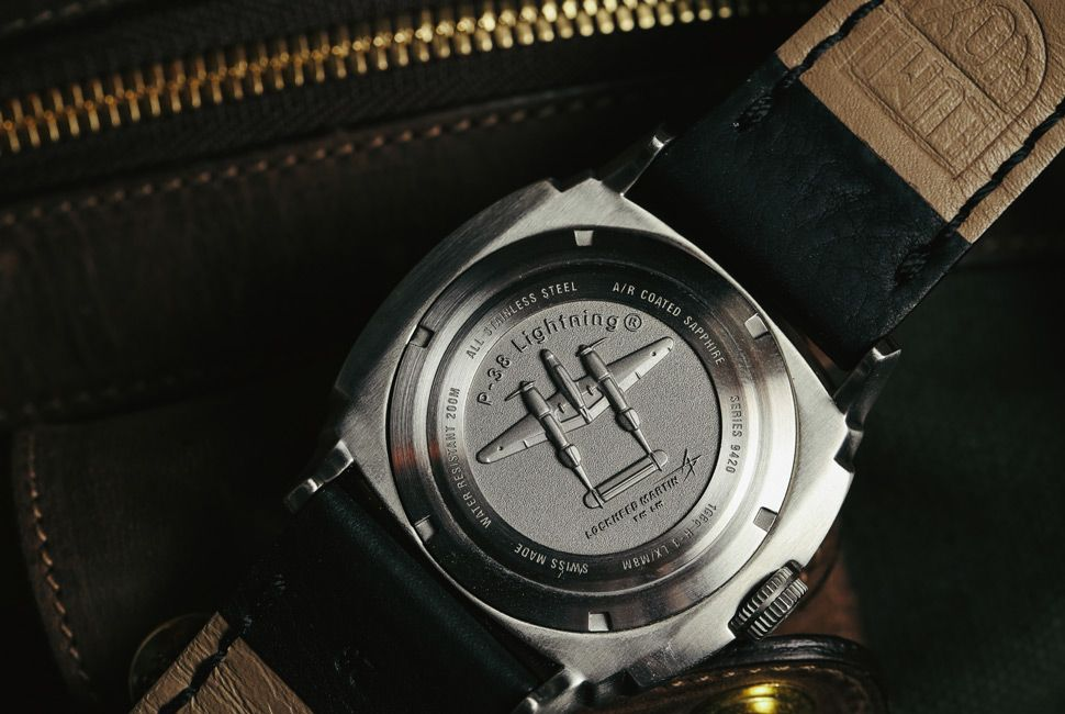 Affordable Watch Review: Luminox P-38 Lightning GMT (With ...