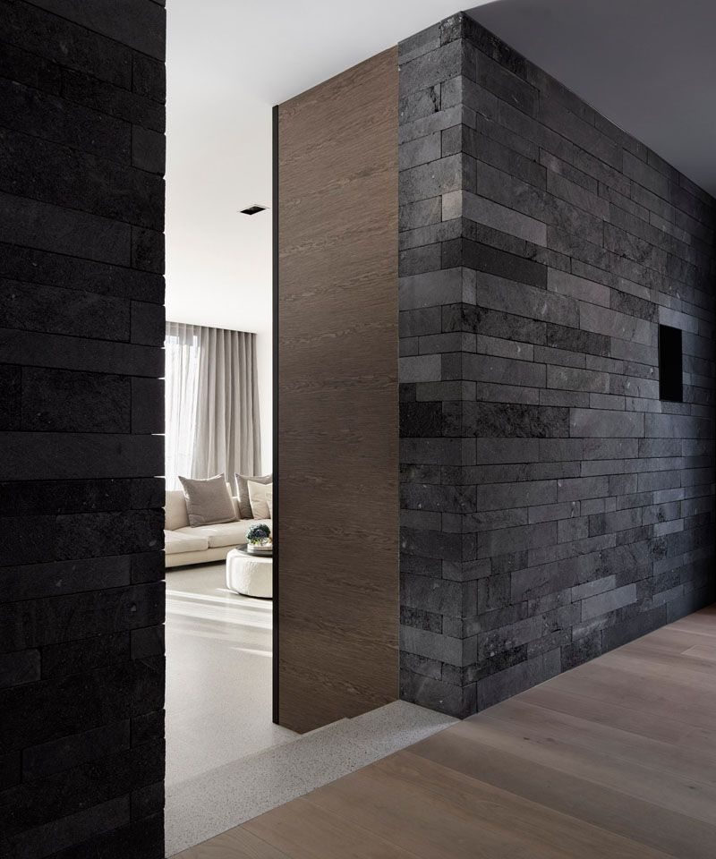 Design Detail Lava Stone Is Used To Create A Natural Look For