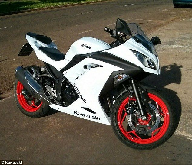 The Description Of The Video Says The Bike A Ninja 300 Was