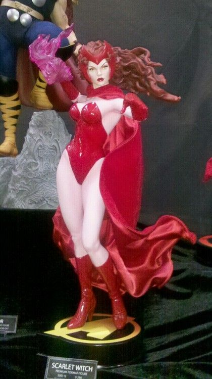 Scarlet Witch figurine at SDCC 2012