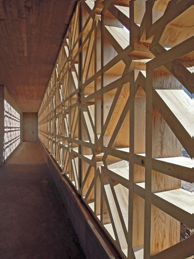 Bernardo Bader Architects: cimitero islamico, Altach, Austria