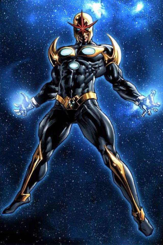 Richard Rider as Nova Prime by Mike Deodato Jr (Marvel ...