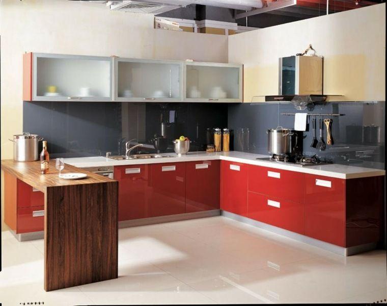 Cuisine en U idéale pour les espaces ouverts Kitchen dining and